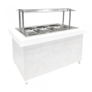 Drop-in Bain Marie DHE MM 107