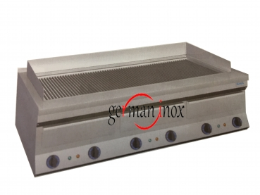 Electric lava-stone grill ELG-800 from HAKA, 800 x 650 x 350 mm