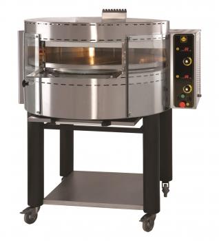 Gas Pizzaofen 1000 x 840 x 470 mm für 4 Pizzen Edelstahl Pizza Ofen Backofen Piz