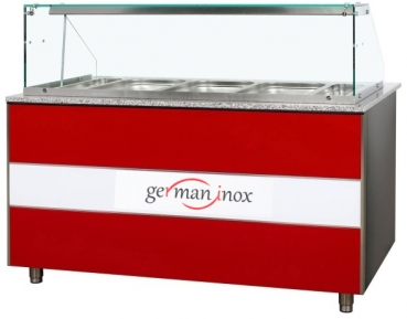 Hot Counter Bain Marie Dining Counter Hot Counter 2000mm | Gastroline | Bistroline