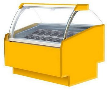Ice cream dispense, TREND 1380x1220x1300mm
