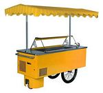 Gelomat mobil Ice cream display case car 2250x1200x2100mm